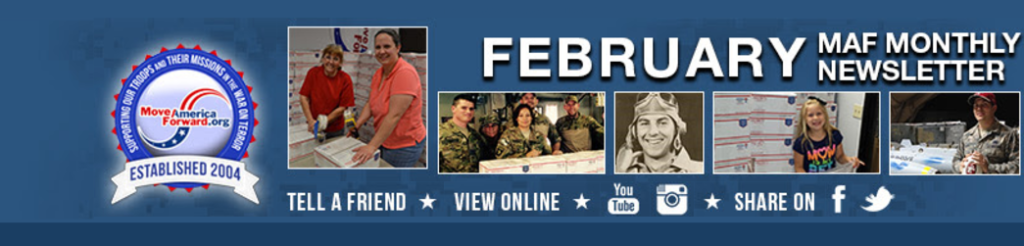 Support Troops MAF NewsLetter